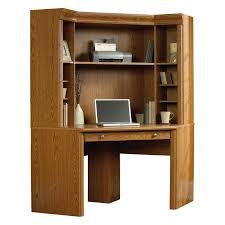 Corner Computer Desk With Hutch by Sauder Edge Water Smartcenter Secretary Desk Estate Black