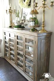 How To Decorate A Buffet Corner Dining Room Buffets Sideboards Top Kitchen Hutch Cabinet China Cabinets
