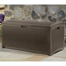 Sams Club Wicker Deck Box by Rattan Storage Bench Garden Bench Decoration