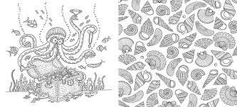 Attractive Design Ideas Ocean Coloring Book Beautiful Contemporary