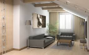 Modern Living Room Decorating Ideas For Apartments Red Blue Colors Bean Bag Chairs White Floral Pattern Cushions Gray Laminated Wooden Tv Cabinet Comfy