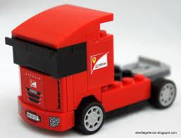 100 Ferrari Truck Shell LEGO Scuderia 30191 Shell LEGO