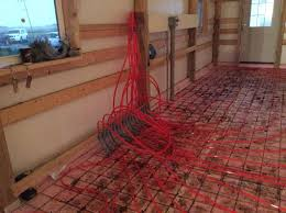Pex Radiant Floor Heating by Pole Barn 40x64x16 Archive Sawmill Creek Woodworking Community