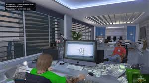 bureau gta 5 zap de spion dans gta v détente dans le bureau du pdg
