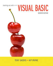 Starting Out With Visual Basic 7th Edition Gaddis Test Bank Banks Solutions Manual