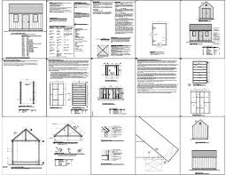 10 X 16 Shed Plans Gambrel by Summers 16 X 16 Gambrel Shed Plans Guide
