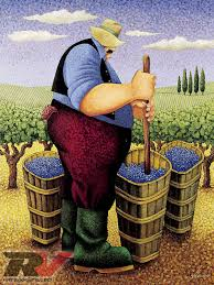 Napa Pumpkin Patch by Napa Valley Great Escapes Lowell Herrero Painting Photo 12 Art