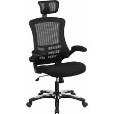 Bungee Office Chair With Arms by Flash Furniture Mid Back Mesh Office Chair In Black Walmart Com