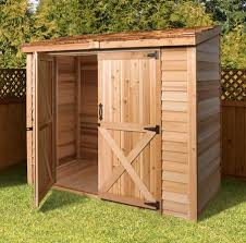 6x8 Wooden Storage Shed by Cedarshed Garden Sheds Gazebo Kits Storage Sheds Cedar Buildings