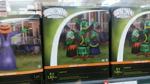 Halloween Inflatable Archway by Bjs Halloween 2017 Youtube