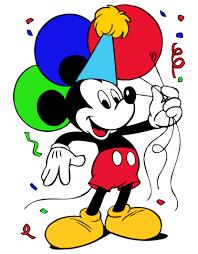 Disney Birthday Clipart