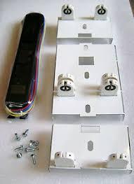 retrofit kit 8 2 bulb t12 fluorescent light to 8 ft t8 4