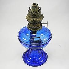 Antique Kerosene Lamps Ebay by Cobalt Blue Oil Lamp Font Kerosene Kosmos Brenner Hardware Vintage