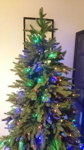 Balsam Hill Luxury Multi Coloured Pre Lit Christmas Tree 7 Foot High
