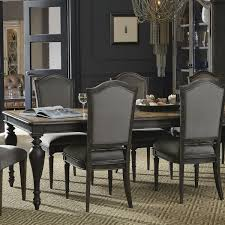 Arabella Rectangle Dining Table In Charcoal