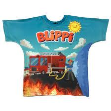 Blippi Firetuck T-Shirt - Firetuck Shirt For Children