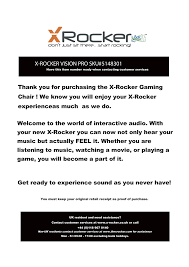 X Rockers 51483 User Manual | 10 Pages Cheap Pedestal Gaming Chair Find Deals On Ak Rocker 12 Best Chairs 2018 Xrocker Infiniti Officially Licensed Playstation Arozzi Verona Pro V2 Pc Gaming Chair Upholstered Padded Seat China Sidanl High Back Pu Office Buy Xtreme Ii Online At Price In India X Kids Video Home George Amazoncom Ace Bayou 5127401