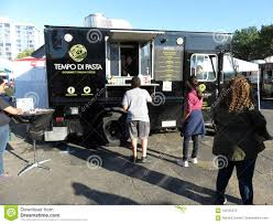 Ordering Food At The Food Truck Editorial Photography - Image Of ...