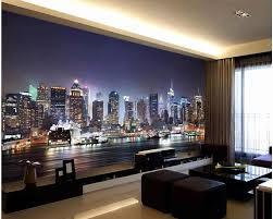 nach wandbild foto 3d zimmer tapete peking skyline bei nacht hintergrund wand wohnzimmer 3d wandbilder wallpaper für wände 3 d