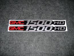 Product: 2 GMC 1500 HD DECALS GMC 1500 HD SIERRA BADGE DECALS STICKERS Pair Of Jeep Wrangler Hood Truck Vinyl Stickers Decals Cj Tj Jk 4x4 Gun Family Decal My Loud Stick Figure 159cm Dont Touch Car Window Door Dallas Cowboys 4x4 Free Shipping Hub City Sports Two Color Dodge Sport Side Decal Offroad Truck Car Window Product 2 Ford Fx4 F150 F250 F350 Monster Edition Gmc Z71 Gorgeous Kamos Sticker Cheap Find Deals On Line For Mopar Dodge Pickup Bed Stripes Choose Bacon Marathon 262 For Or God Is Good Cartruck Decal Religious Apple Laptops Vehicle Graphics Flames 5 Custom Auto