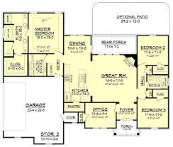 One Level House Plans With Basement Colors Best 25 2 Generation House Plans Ideas On Pinterest Ranch Floor