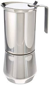 ILSA 122 10 Stainless Steel Stove Top Espresso Maker Cup