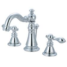 Kingston Brass Faucets Canada by Shop Kingston Brass American Classic Chrome 2 Handle Widespread