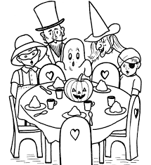 Free Printable Halloween Coloring Pages F Photo Pic For Older Kids