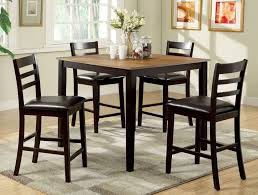 High Dining Room Tables And Chairs by 5 Pc Counter Height Dining Sets Caravana Furniture