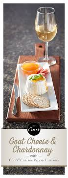 table carr cuisine the and taste of aged goat cheese is a great companion