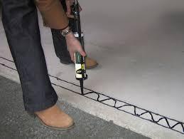Garage Door Bottom Seal For Uneven Floor by Weather Door Stopper U0026 Apply Caulk To Weather Strip