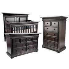Munire Dresser With Hutch by Decorating Black Wooden Munire Crib Plus Matching Dresser For
