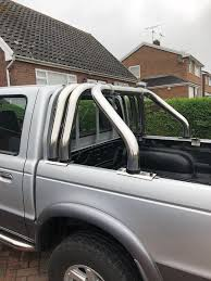 Triple Roll Bar Ford Ranger Pickup. May Fit Other Trucks | In Ruabon ... Good News Is The Roll Bar Worked Fordranger Rc Adventures Modifying My Ford F150 Fx4 W A Roll Bar Chase Roof Rack Combo Tacoma World Amazoncom Black Horse Rb001bk Classic Automotive Bed Bars Yes Or No Dodge Ram Forum Dodge Truck Forums 71 Blazer K5 Liking Idea Here 1st Gen 2017 Pick Up Frontier For Nissan Navara Buy Long Steel Brake Lamp Hamer Matte Fit Ranger T6 Limitless Accsories Offroad Rocky Roof For Bravo Other Badass Ford F350 Youtube The Suburbalanche Now Suburbalander I Just Built