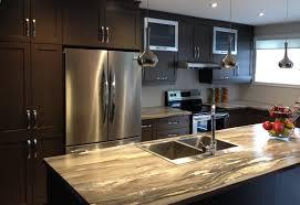armoire de cuisine stratifié cuisine en polyester avec comptoir stratifié armoires à