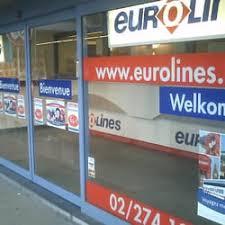 bureau eurolines eurolines transports rue du progrès 80 schaerbeek région de