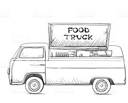 Hand Drawn Food Truck Delivery Service Stock Vector Art 615639168 ... Delivery Car Vector Icon Truck Service Portland Oak Fniture Warehouseoak Warehouse Cargo And Logo Stock Image Delivery With Warehouse Service Icon Boston To New York Freight Trucking Company Hand Drawn Truck Logistics Transport Van Fast Western Cascade 2005 Ford E350 Utility Work Box The Images Collection Of Photo Avopixcom Hand