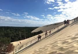 escalier dune du pyla maman connect
