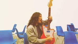 Rock N Roll Fender Jaguar Cant Stop Red Hot Chili Peppers John Frusciante Funk