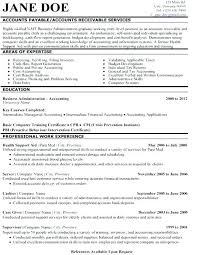 Resume Examples For Accounting Sample Skills Account Best Images About Template