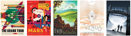 NASAs Travel Agency Giving Away Free Retro Space Posters
