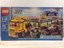 LEGO City Auto Transporter (60060) | EBay Lego City Race Car Transporter Truck Itructions Lego Semi Building Youtube Tow Jet Custom Vj59 Advancedmasgebysara With Trailer Instruction 6 Steps With Pictures Moc What To Build Legos Semitrailer Technic And Model Team Eurobricks And Best Resource