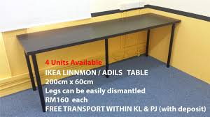 Ikea Linnmon Corner Desk Hack by Ikea Linnmon Desk Hostgarcia