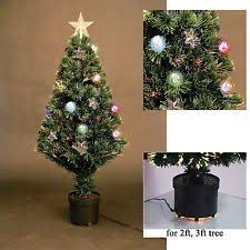 3ft Pre Lit Blossom Christmas Tree by 3ft 90cm Led Fibre Optic Christmas Tree Pre Lit Xmas Ttree With