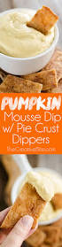 Skinnytaste Pumpkin Pie Cheesecake by Pumpkin Mousse Dip With Pie Crust Dippers Takes All The Great
