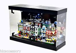 Image Is Loading Acrylic Display Case LED Light Box For LEGO
