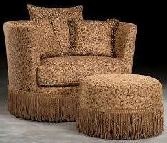 Animal Print Bedroom Decorating Ideas by Leopard Print Swivel Barrel Chair
