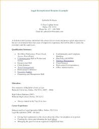 Resume Objective Samples For Receptionist Sample Skills New Dental Examples Reception