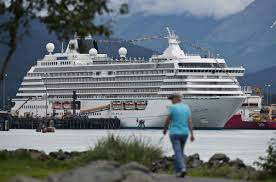 Cruise Ship Sinking Now by Luxury Cruise Ship Sets Sail For The Arctic From Seward Alaska