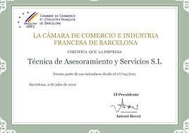 chambre de commerce et d industrie de adresse chambre de commerce et d industrie française à barcelone