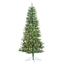 Indoor Lit Spruce Artificial Corner Tree With Pre Sale Xmas N Fiber Optic Christmas Combo
